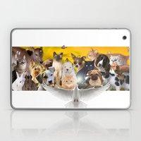 Coexisting Laptop & iPad Skin