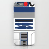 iPhone & iPod Case featuring Star Wars - R2D2  by Adrian Mentus