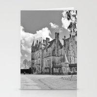 Castle B&W Stationery Cards