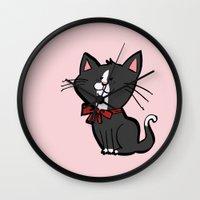 Happy Kitten Wall Clock