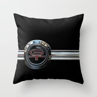 Ford Torino G.T. 380 Throw Pillow