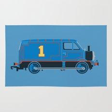 Tommy the Van Engine Rug