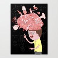 Brain! Canvas Print