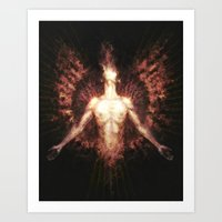 Splendour of The Sun Art Print