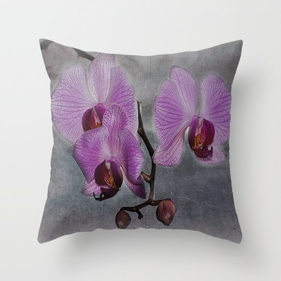 Orchidee  Throw Pillow
