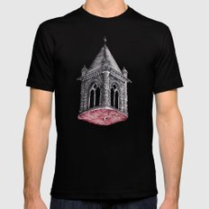 Fleshy Architecture  Black Mens Fitted Tee SMALL