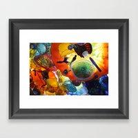 Beautiful Colors Framed Art Print