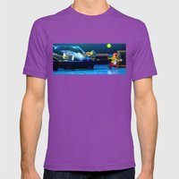 It's Not it-Robbing Mens Fitted Tee Ultraviolet SMALL