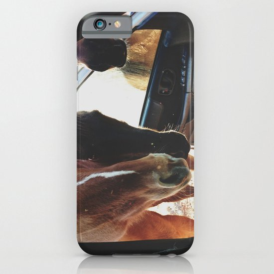 Car Horses iPhone & iPod Case