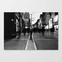 Star Light [Black & Whit… Canvas Print