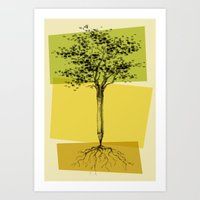 Ideas Don't Grow On Tree… Art Print