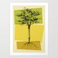 Ideas Don't Grow On Trees Art Print