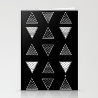 triangle Stationery Cards featuring Triangle by Emmanuelle Ly