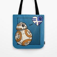 Droid Love Tote Bag