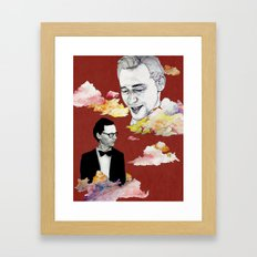 Cloud, Smoke Framed Art Print