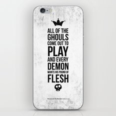 Shake it out iPhone & iPod Skin