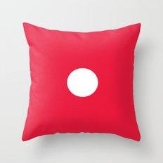 Red Dice 1 Throw Pillow