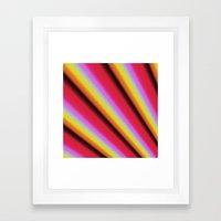 Touch Of Sunshine Framed Art Print