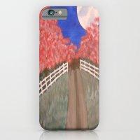 Cherry Blossom Pathway iPhone 6 Slim Case