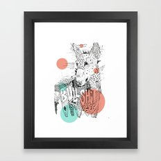 BULL II Framed Art Print