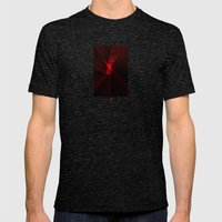 Subjective Mens Fitted Tee Tri-Black SMALL