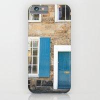Teal Doors iPhone 6 Slim Case