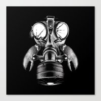 Mask Canvas Print