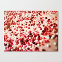 icing on the cake Canvas Print