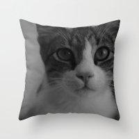 CAT. Throw Pillow