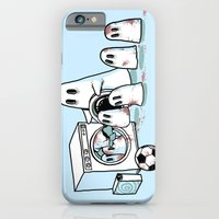 iPhone & iPod Case featuring Cleanup by tenso GRAPHICS