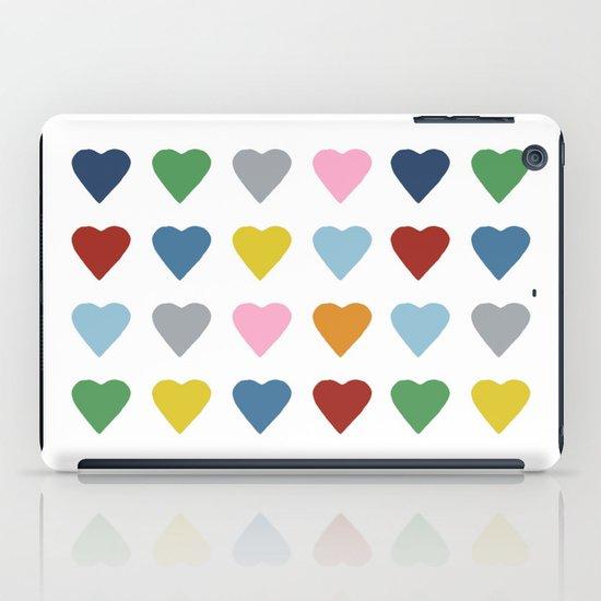16 Hearts iPad Case