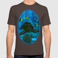 T-shirt featuring Into The Deep Aquarium by BohemianBound