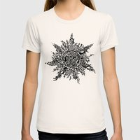 The Sun Womens Fitted Tee Natural SMALL