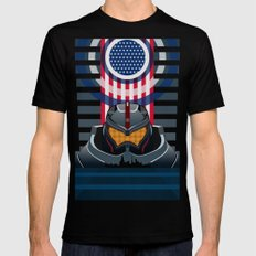 Pacific Rim v2 SMALL Mens Fitted Tee Black