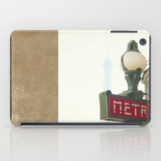 Metro in Paris iPad Case