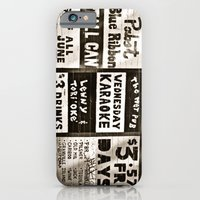 iPhone & iPod Case featuring night life by LeoTheGreat