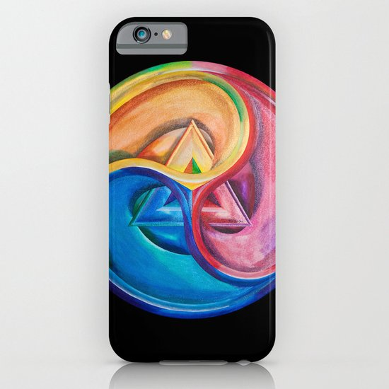 Primary triangle iPhone & iPod Case