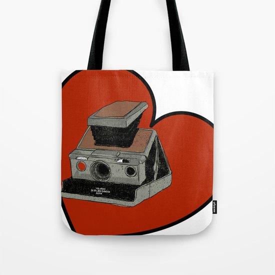 POLAROID SX70 Tote Bag