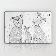 In rain Laptop & iPad Skin