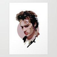 Jeff Buckley Art Print
