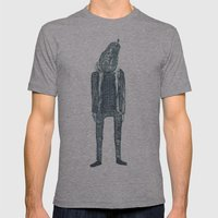 monsieur poire Mens Fitted Tee Athletic Grey SMALL