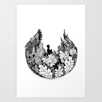 Commune With Nature Art Print