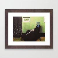 Whistler's Turtle Framed Art Print