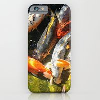 iPhone & iPod Case featuring Koi Fish Abstract by Arts and Herbs