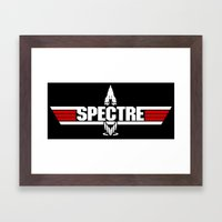 Top Spectre Framed Art Print