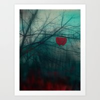 Strenght Of Love Art Print
