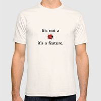 It´s Not A Bug #01 Mens Fitted Tee Natural SMALL