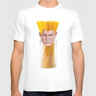 Guile Spaghetti Mens Fitted Tee White SMALL