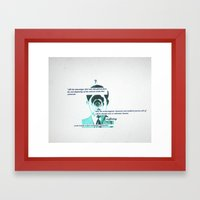 Ponder Framed Art Print