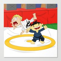 Olympic Sports: Judo Canvas Print